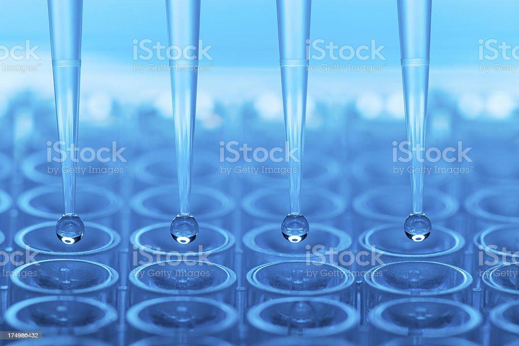 Wissenschaftliches experiment - Lizenzfrei Abstrakt Stock-Foto