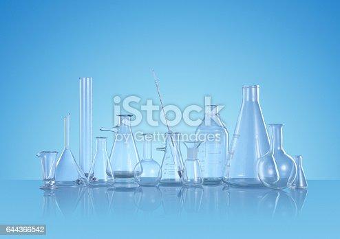 istock Scientific Glass Still Life 644366542