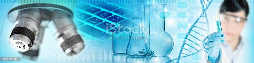 842438082 istock photo scientific lab analysis concept 855141312