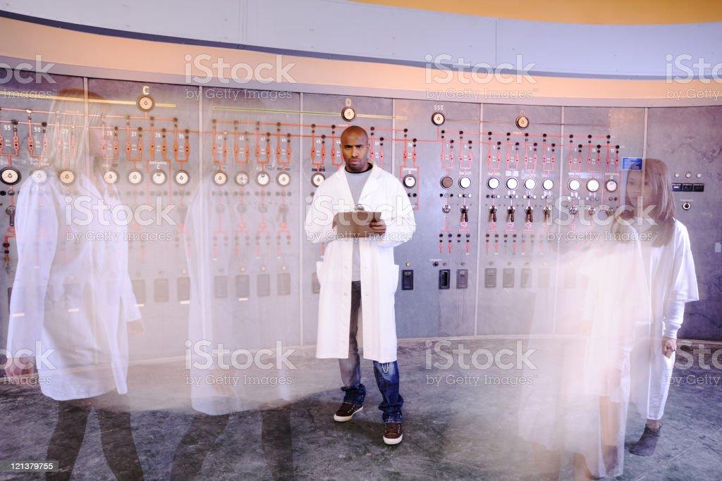 Scientific laboratory royalty-free stock photo