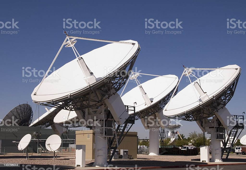 Scientific Research - Looking for ET stock photo