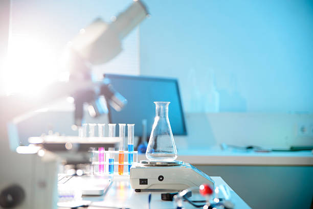 scientific research - laboratory equipment stock photos and pictures
