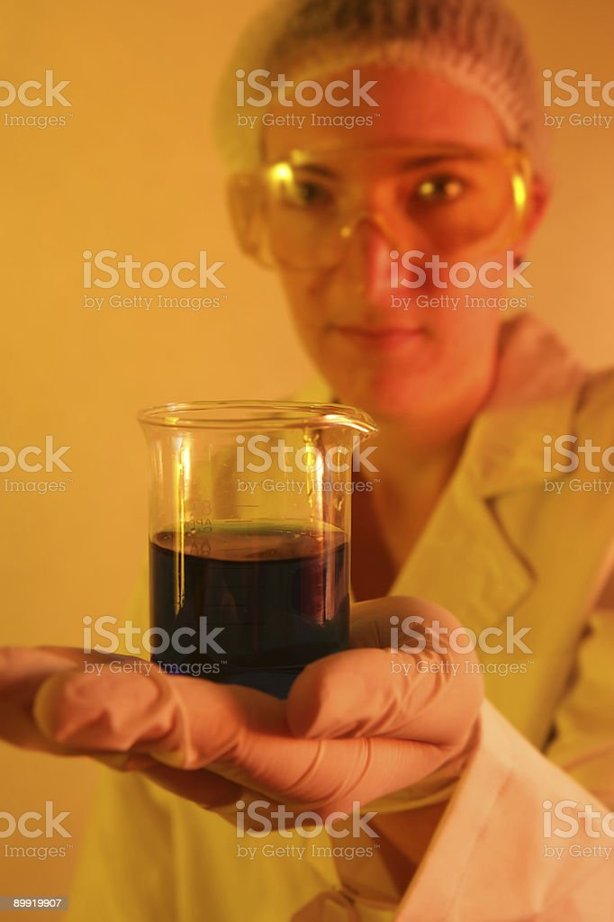 Scientific Results royalty-free stock photo
