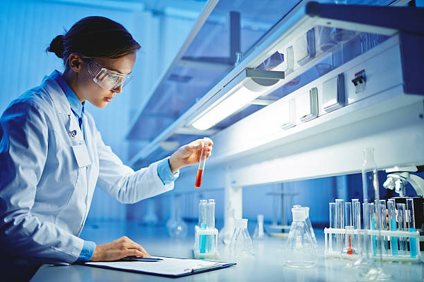 scientific tests - laboratory stock photos and pictures