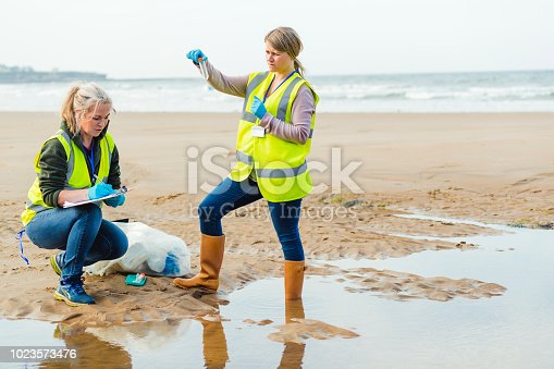 istock Scientist Analysing Sea Water 1023573476
