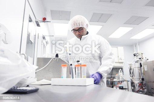 517743436 istock photo Scientist in a laboratory 598090414