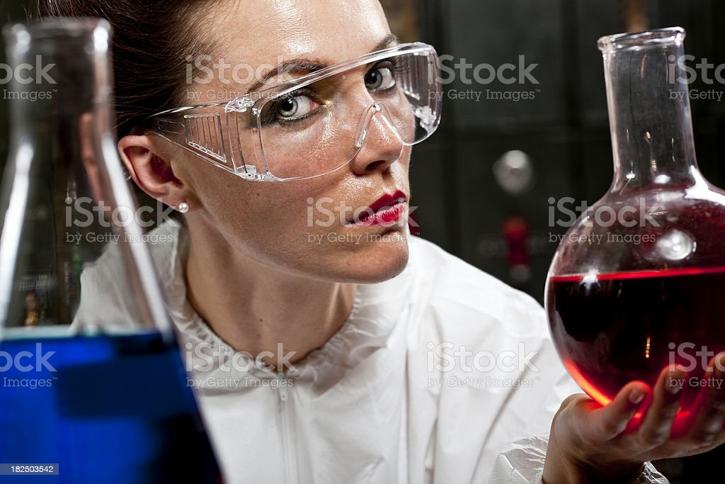 Scientist royalty-free stock photo