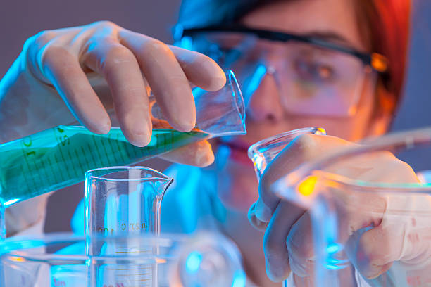scientist - chemical stock photos and pictures