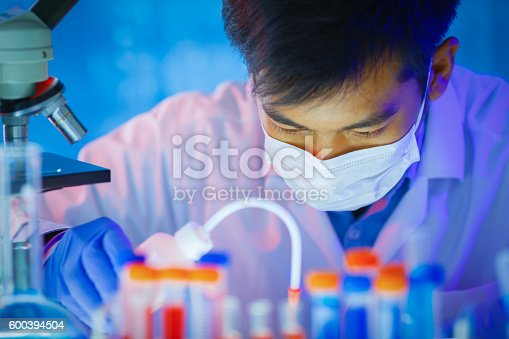 istock Scientist working in laboratory 600394504