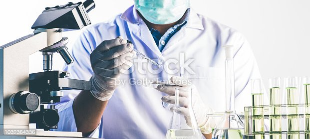 istock Scientists and scientific equipment In the laboratory,Laboratory research concept 1032364336