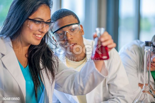 istock Scientists Looking at the Results 504819550