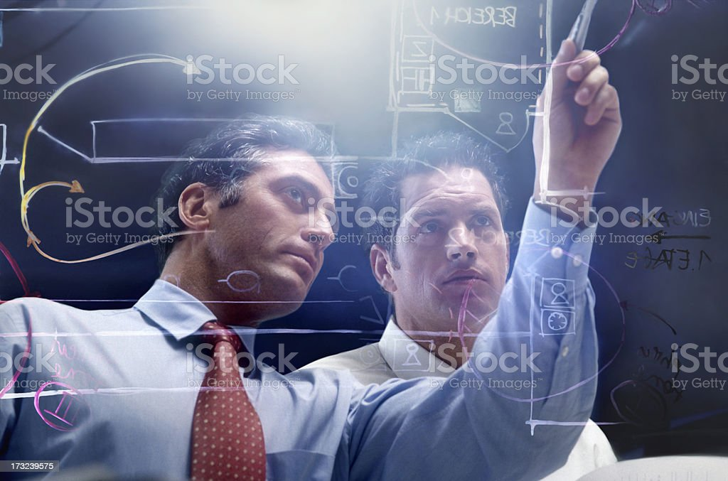 Scientists royalty-free stock photo
