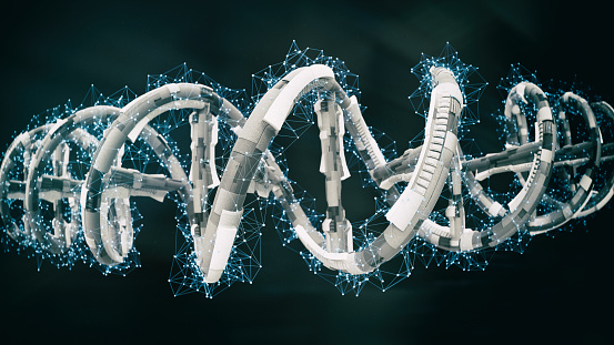 istock DNA SciFi Helix 1096374876