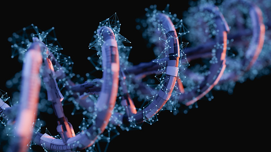 istock DNA SciFi Helix 919410014