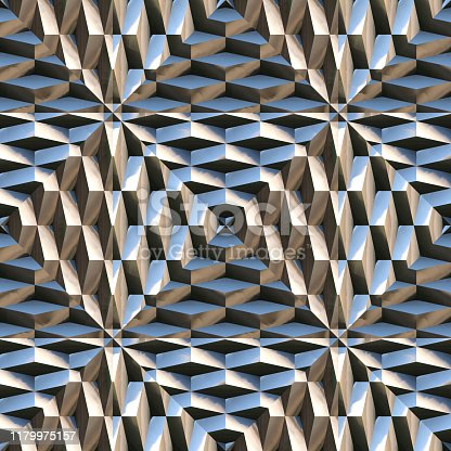Modern Metal Surface Spikes Chrome Silver Science Fiction Tech Style- Seamless Tile Pattern HD seamless high resolution and quality pattern tile for 2D design and 3D as background or texture for objects - ready to use.