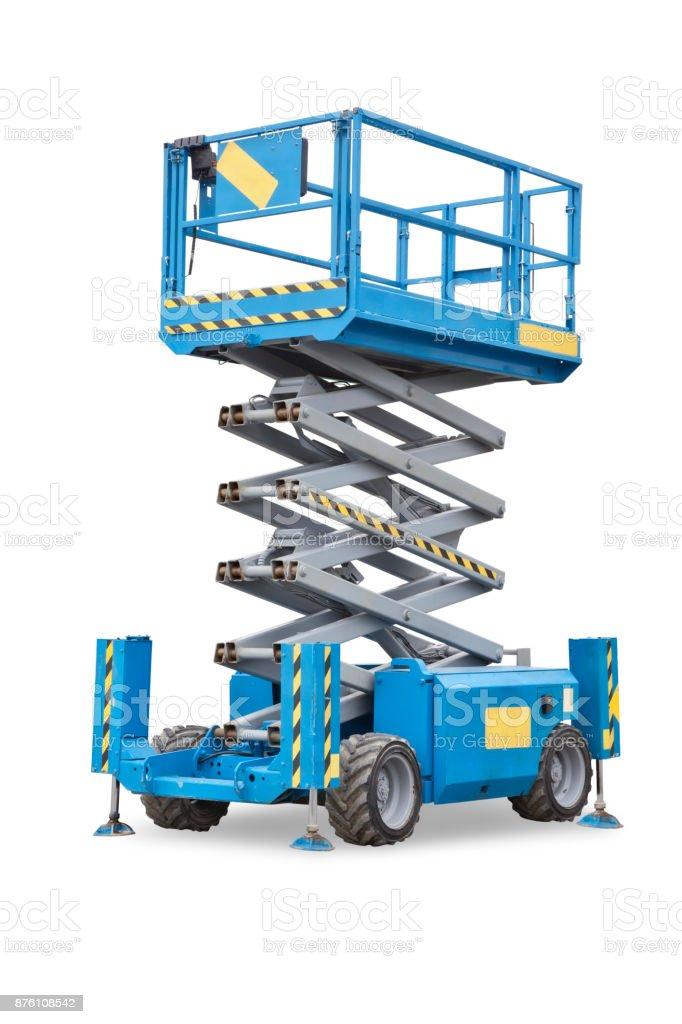 Scissor lift - Foto stock royalty-free di Ascensore