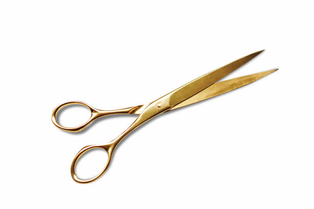 Scissors Isolated on White Background Scissors Isolated on White with clipping path scissors stock pictures, royalty-free photos & images