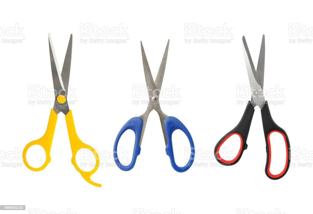 scissors  isolated on white background - Royalty-free Barber Stock Photo