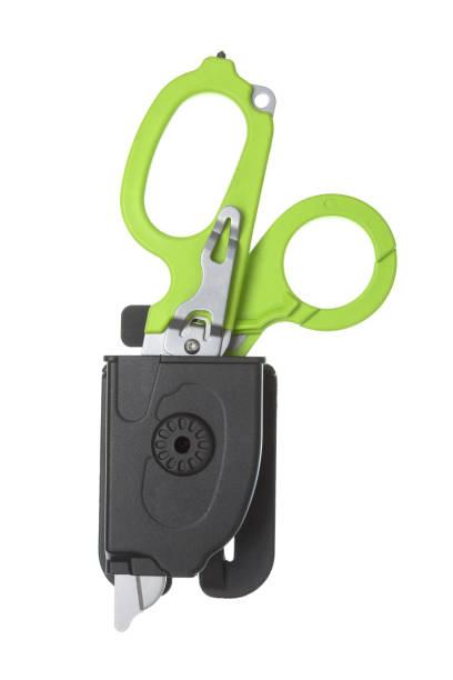 Cтоковое фото Scissors tool isolated on white background