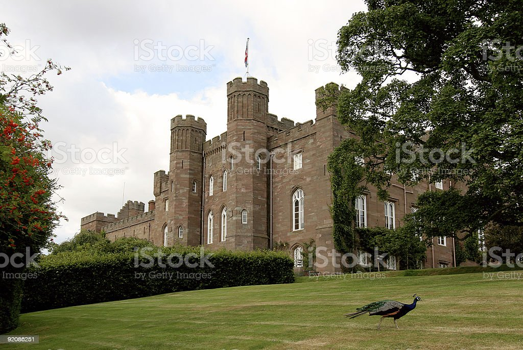 Scone Palace 1 stock photo