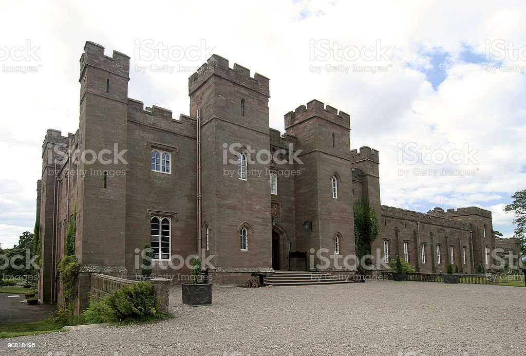 Scone Palace 3 stock photo