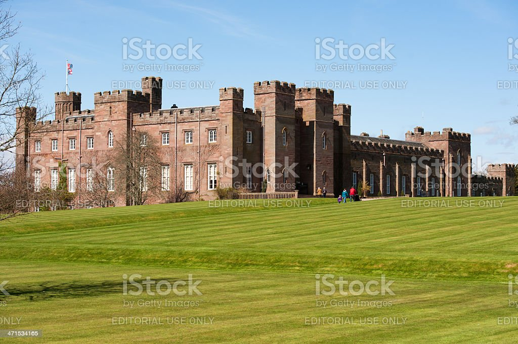 Scone Palace stock photo