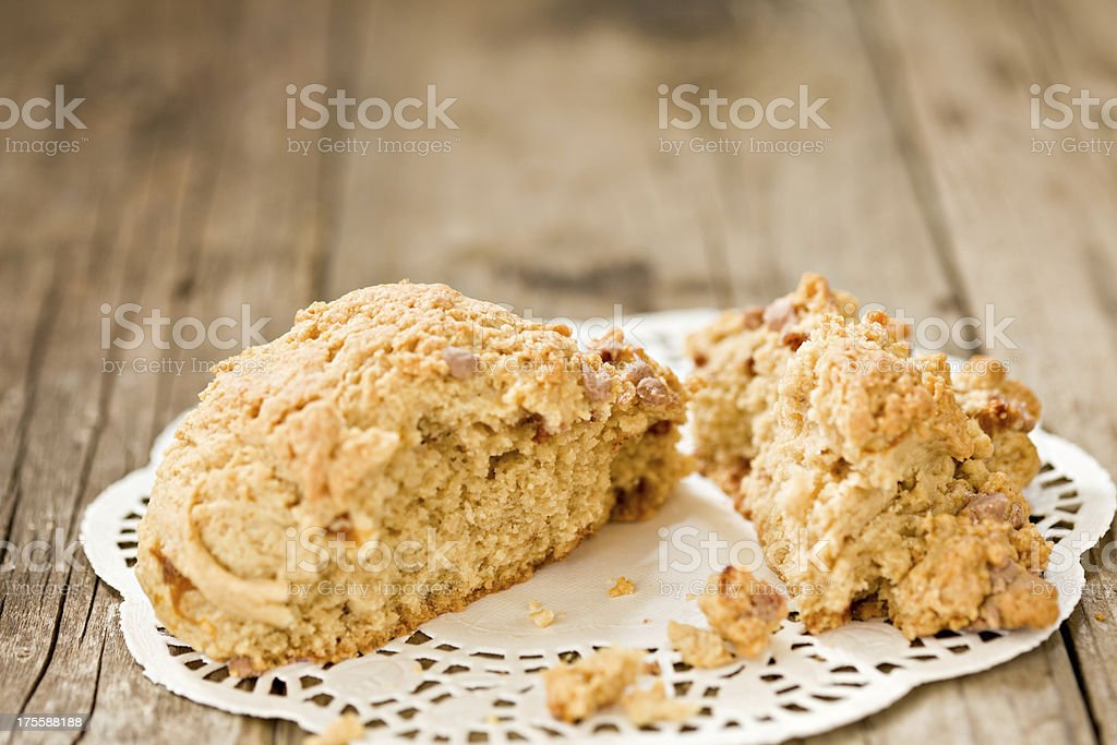 Scone stock photo