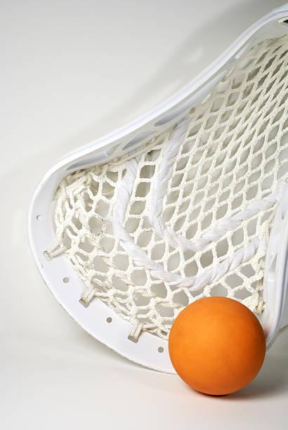 szufelka piłką - kij do gry w lacrosse zdjęcia i obrazy z banku zdjęć
