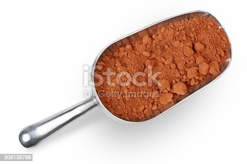 istock scoop with cocoa 506136768