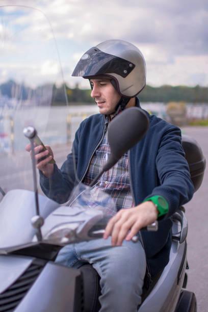scooter - steuerungstechnik stock-fotos und bilder
