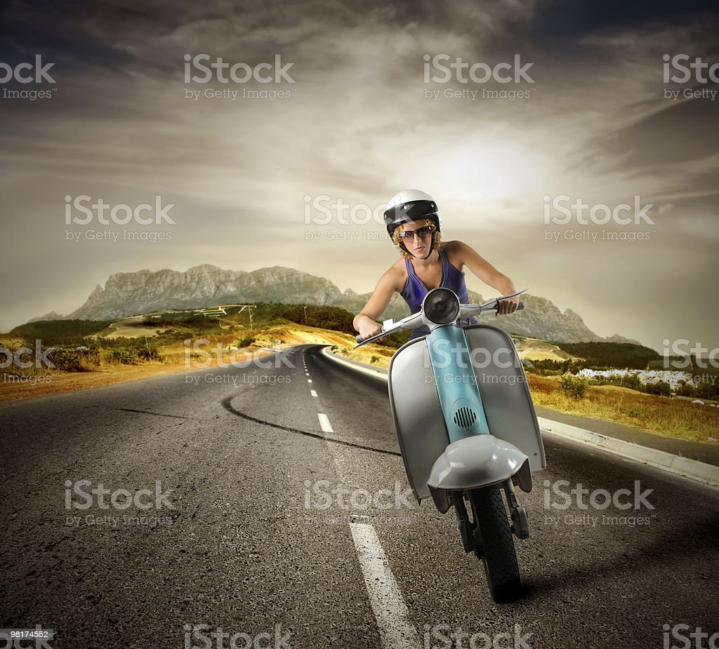 scooter foto stock royalty-free