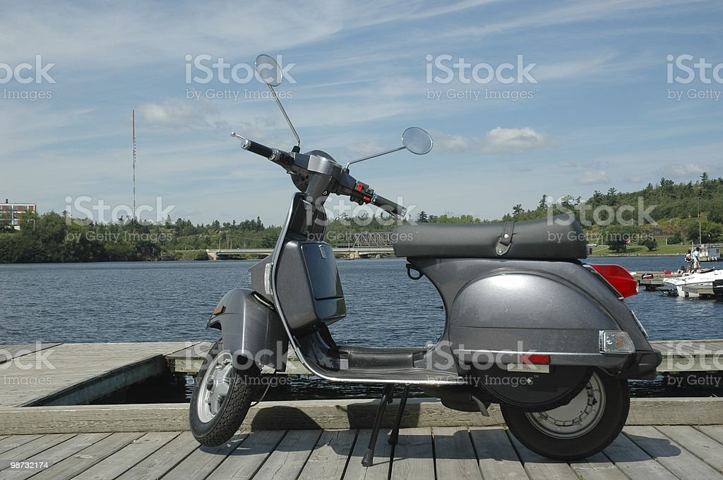 scooter foto royalty-free