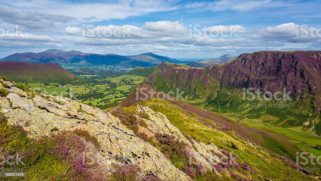 Scope End Rodge in The Lake District, Cumbria, England stock photo