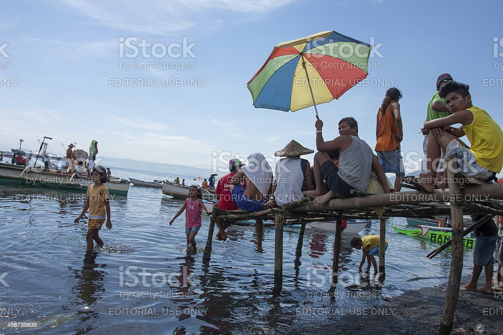Scorching heat of mid-day sun royalty-free stock photo