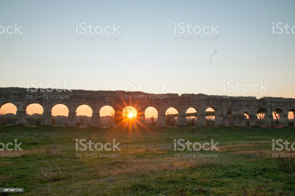 scorcio di roma royalty-free stock photo