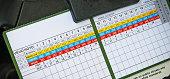 Scorecard for a Spanish Golf Course