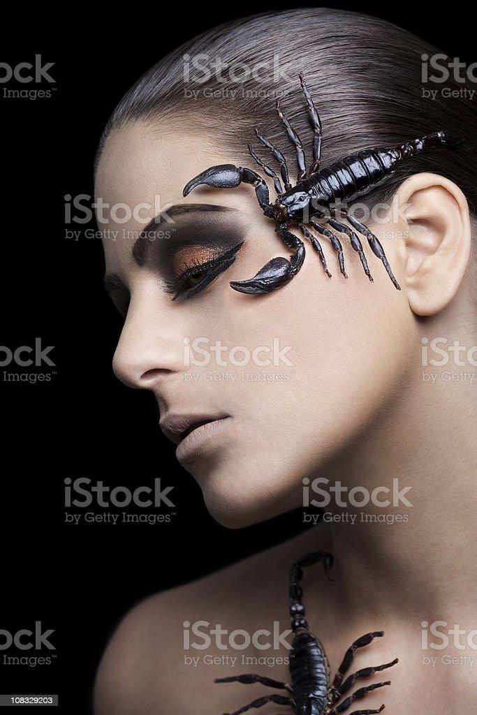 Scorpion Beauty stock photo