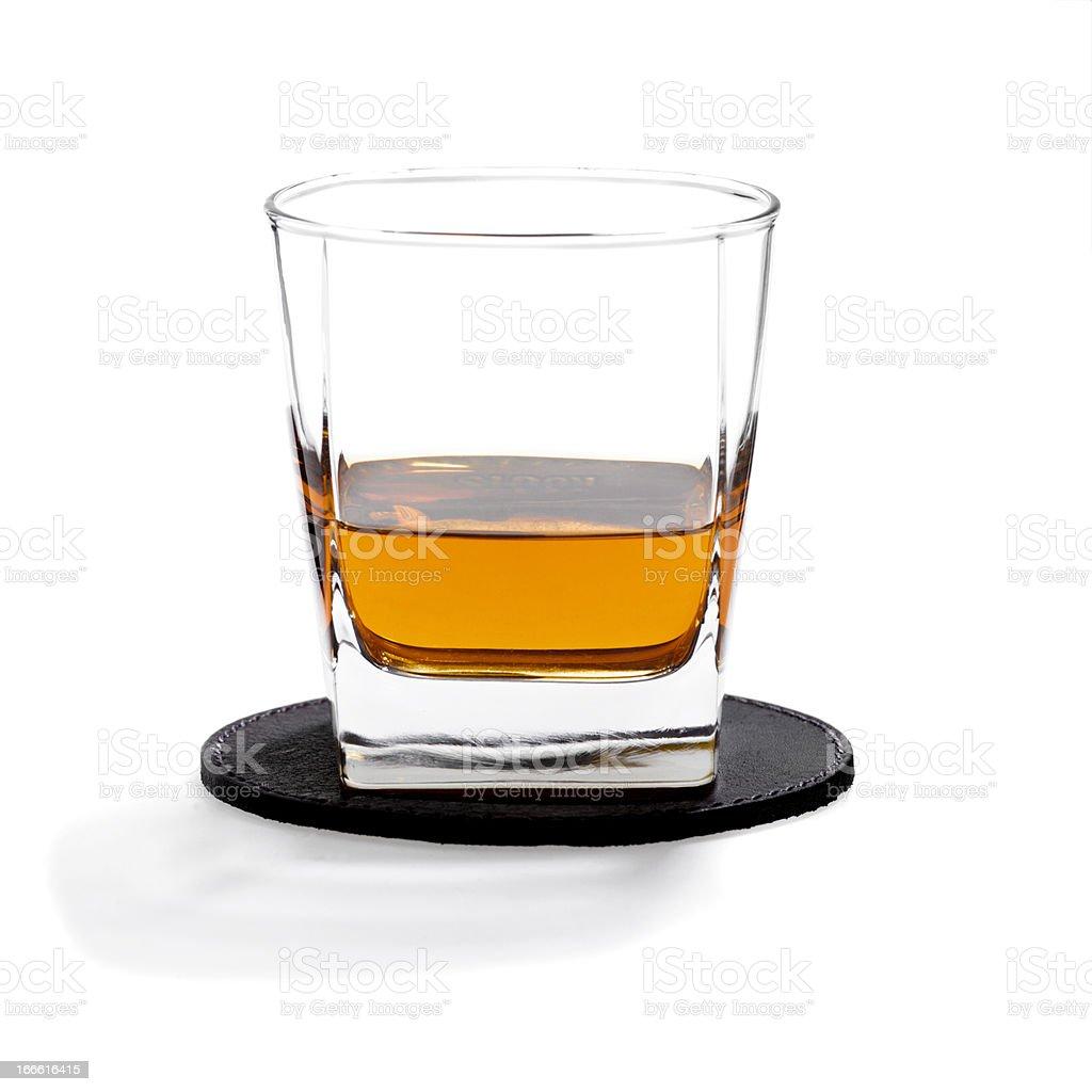 Scotch Neat royalty-free stock photo
