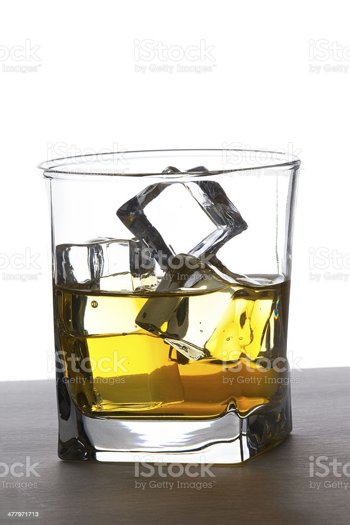 Scotch royalty-free stock photo