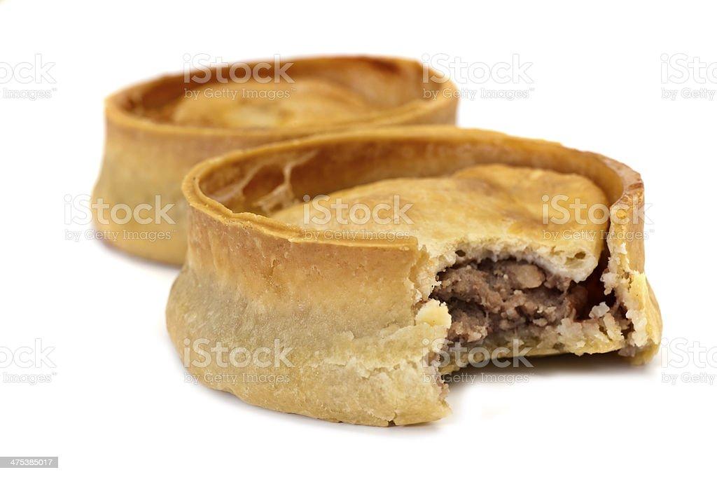 Scotch Pie stock photo