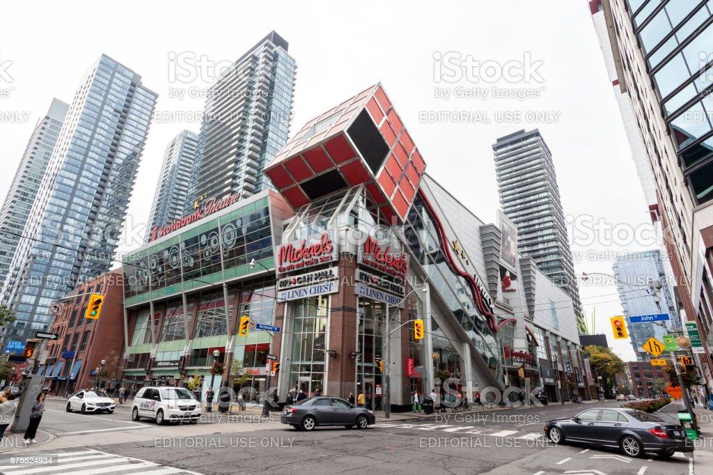 Scotiabank Entertainment Centre in Toronto stock photo