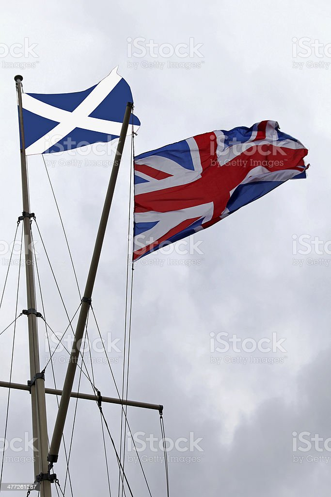Scotland and UK royalty-free stock photo
