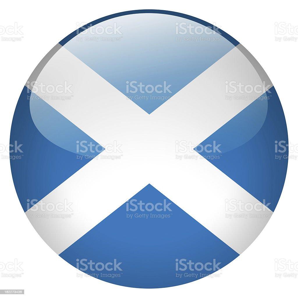 scotland button royalty-free stock photo