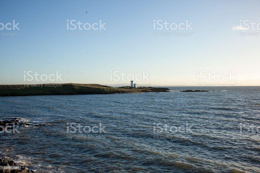 Scotland - Elie Lighthouse stock photo