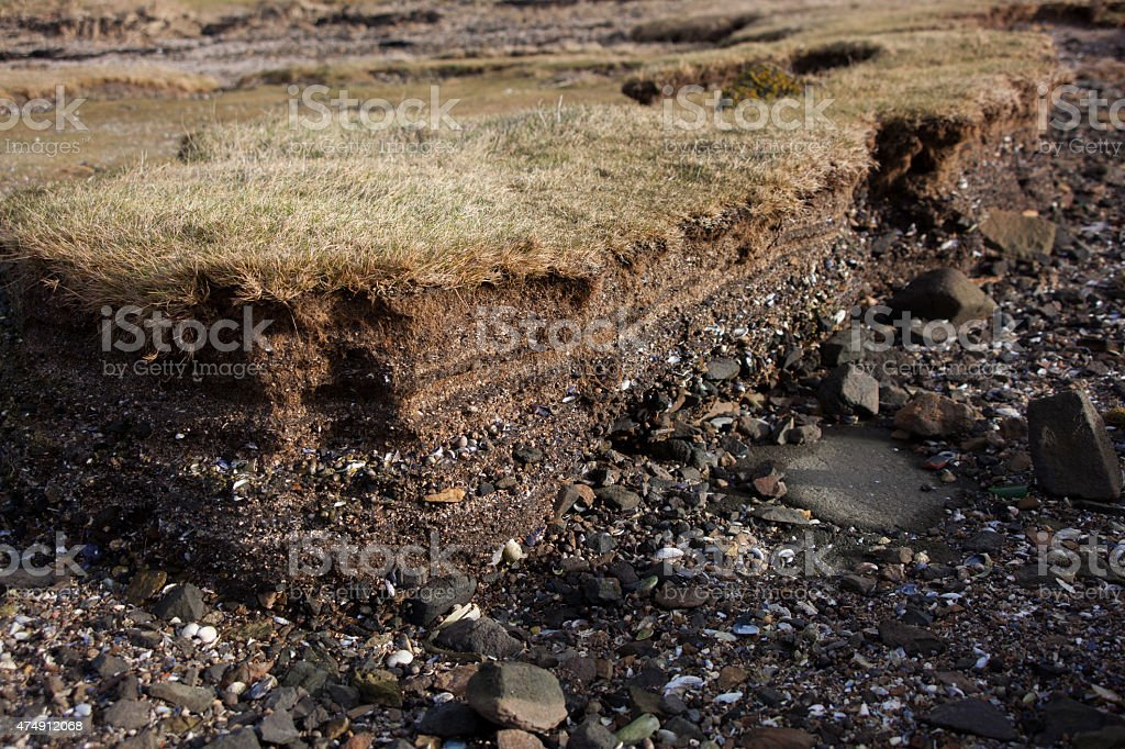 Scotland - Eroded Earth stock photo