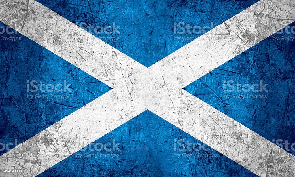 Scotland flag stock photo