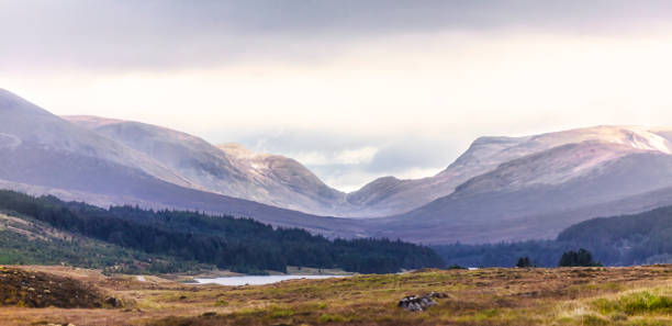 Scotland Highlands stock photo