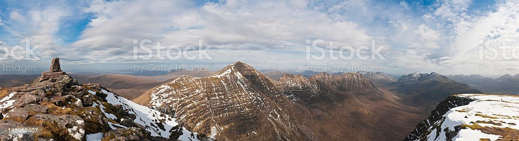 Scotland magnificent Highlands wild peaks royalty-free stock photo