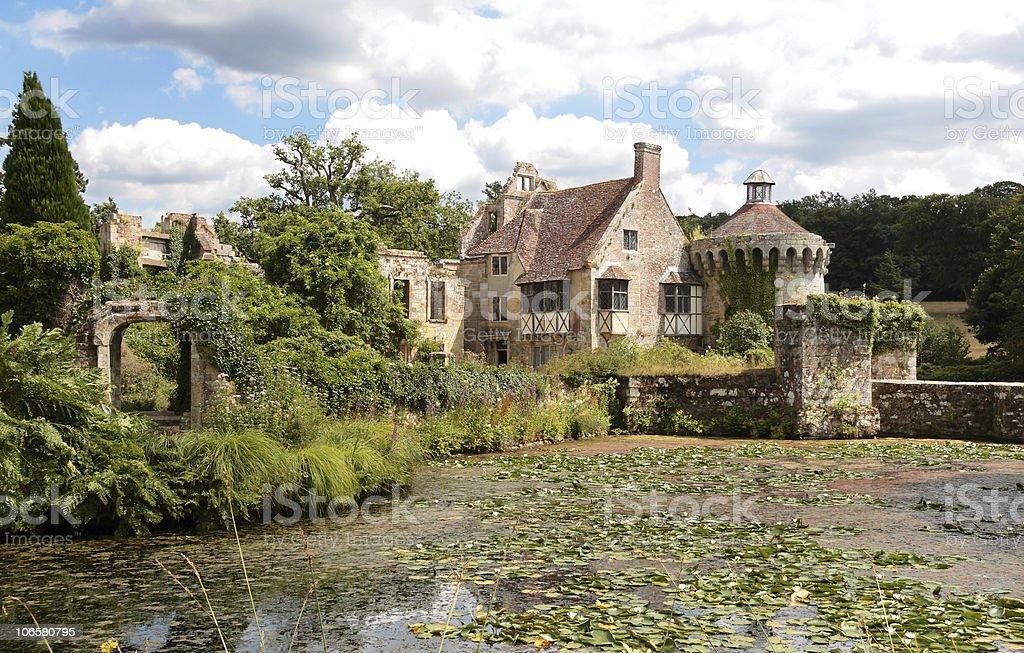 Scotney Old Castle, Kent, England stock photo