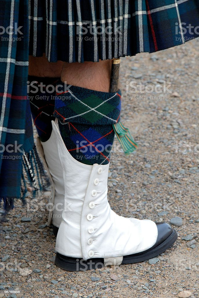 Scots Piper royalty-free stock photo